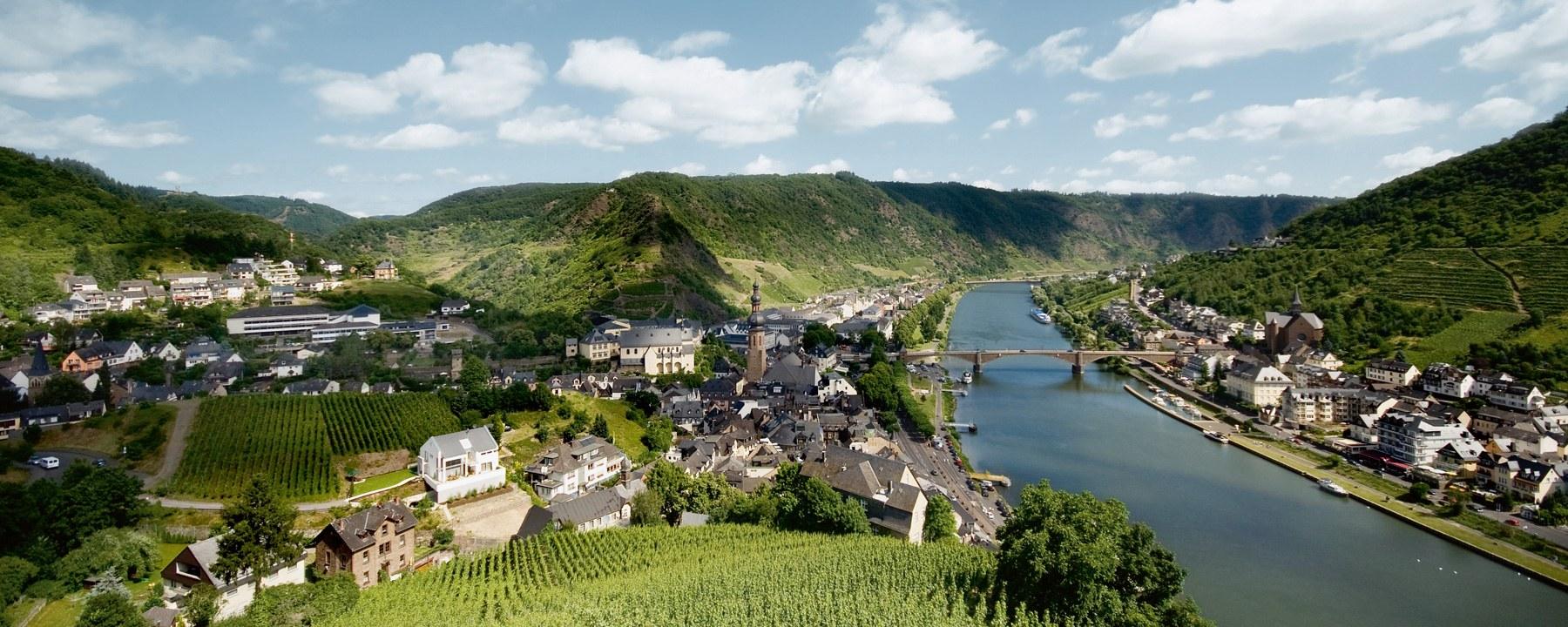 7 Nächte ab Köln, Koblenz, Mainz, Rüdesheim, Bernkastel-Kues und Trier-Mehring nach Cochem.