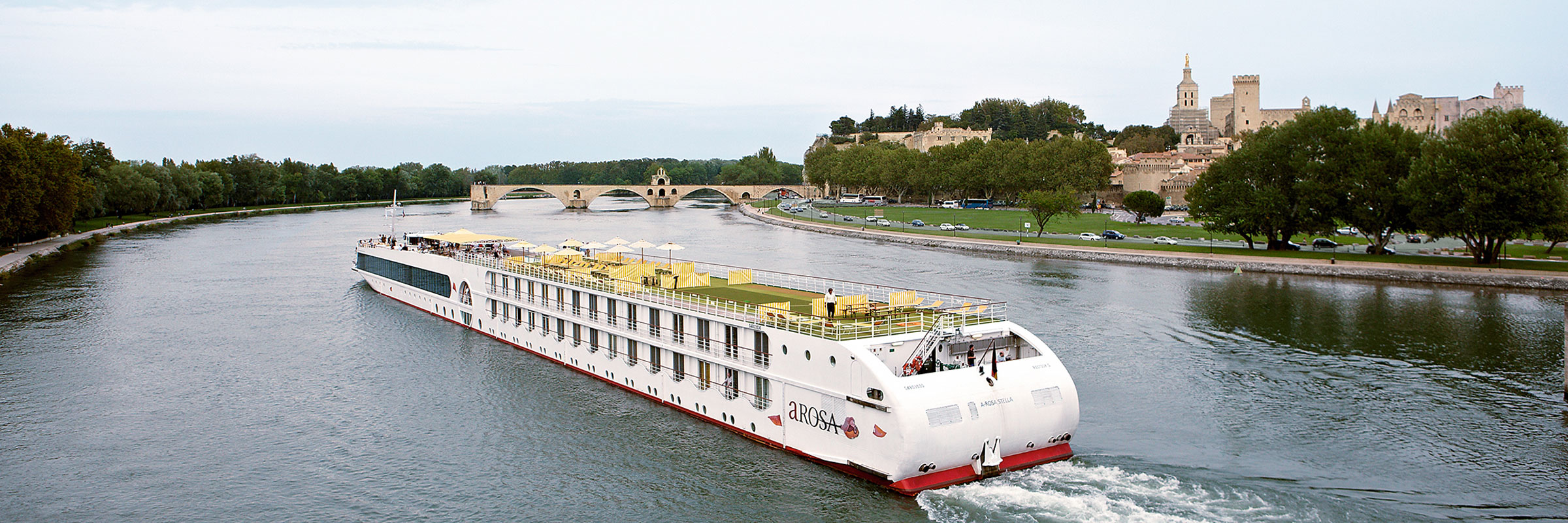7 Nächte ab Lyon, Mâcon, Chalon-sur-Saône, Tournus, Viviers und Arles nach Avignon.