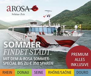 Angebot Flusskreuzfahrt mit A-Rosa