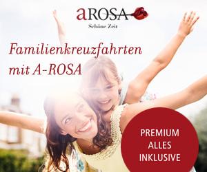 Osterurlaub mit der Familie bei A-ROSA Kreuzfahrten